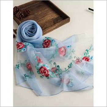 Ladies Floral Printed Scarf
