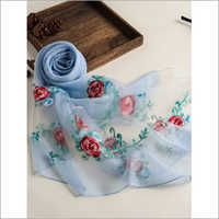 Ladies Floral Printed Scarf