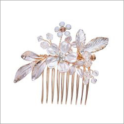 Floral And Leaf Pattern Lovigori Hair Clip