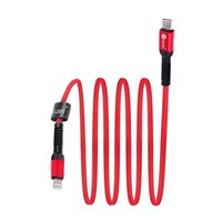 DC0X1 2.4 AMP TYEP -C to I PHONE   FAST BLUEI  DATA CABLE