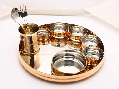 10 Pcs Buffet Set - Copper Liner
