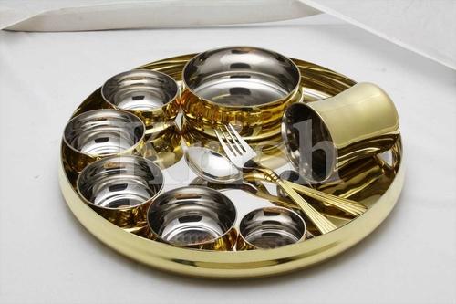 10 Pcs Buffet Set - Brass Liner