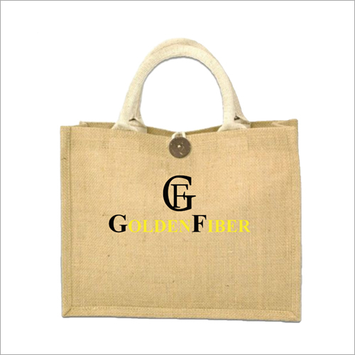 Laminated Plain Jute Carry Bag