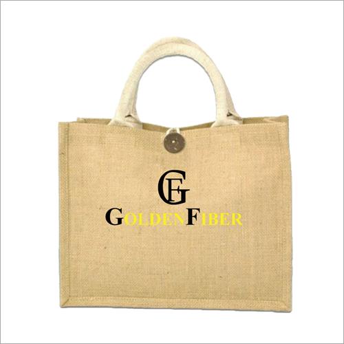 Laminated Plain Jute Carry Bag