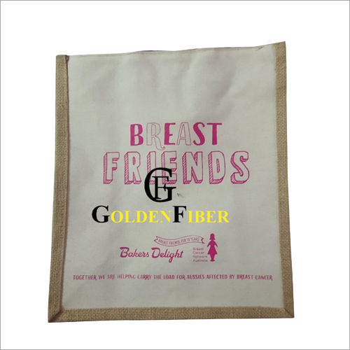 Printed Promotional Jute Bag