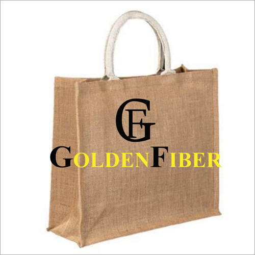 Plain Jute Lunch Bag