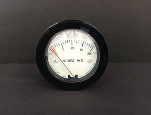 Dwyer 2-5000-25MM Minihelic II Differnntial Pressure Gauge 0-25 MM w.c