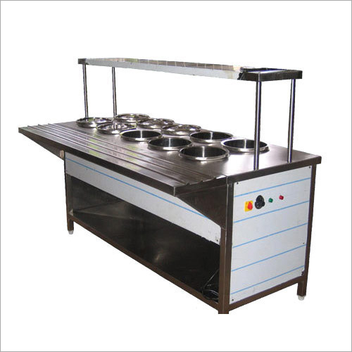 Stainless Steel Food Service Counter