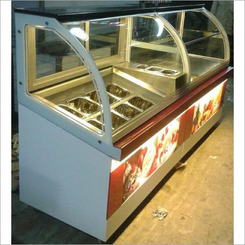 Ice Cream Display Counter