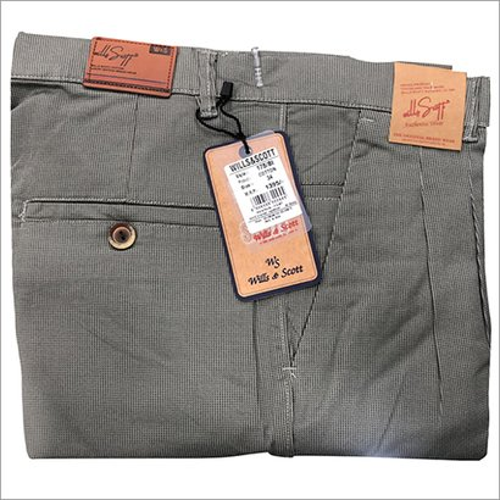 Mens Fancy Cotton Trousers
