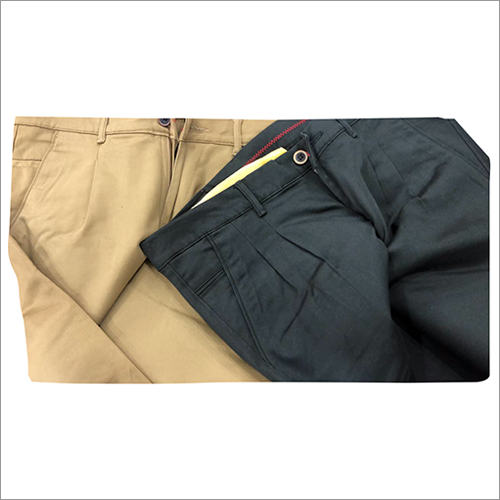 Mens Regular Fit Trousers