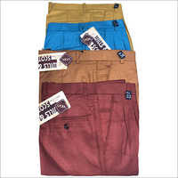 Mens Multicolor Trousers
