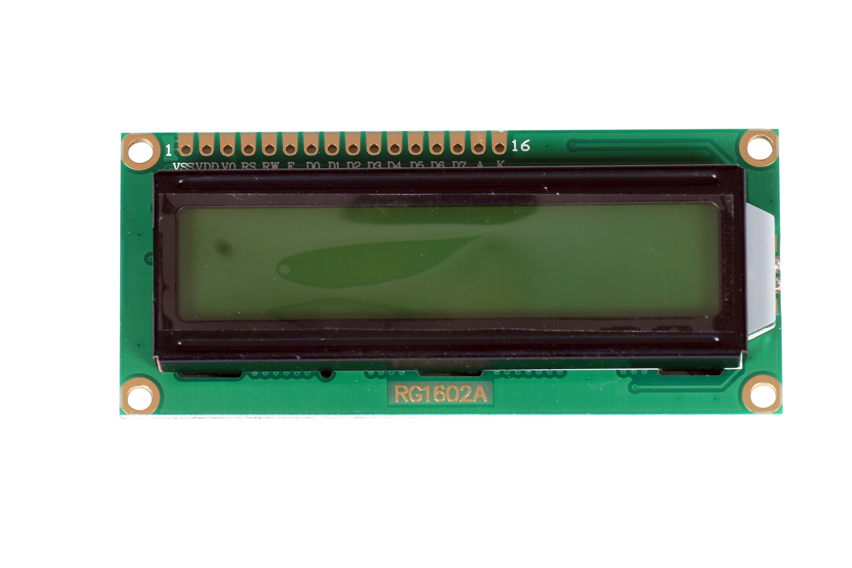 LCD Display 1602 (GREEN)
