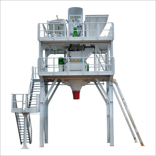 Concrete Batching Plant With Stetter Twin Shaft Mixer