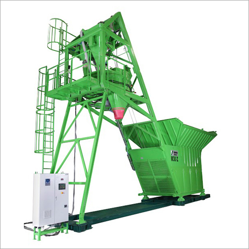 Concrete Mobile Mixing Plant