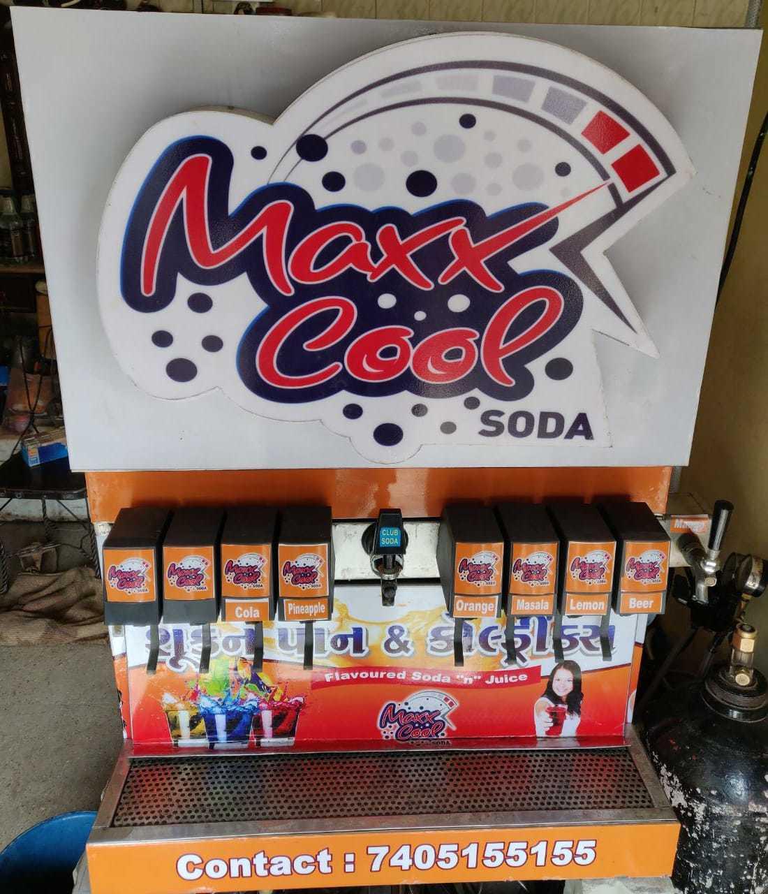6+2 Soda Machine
