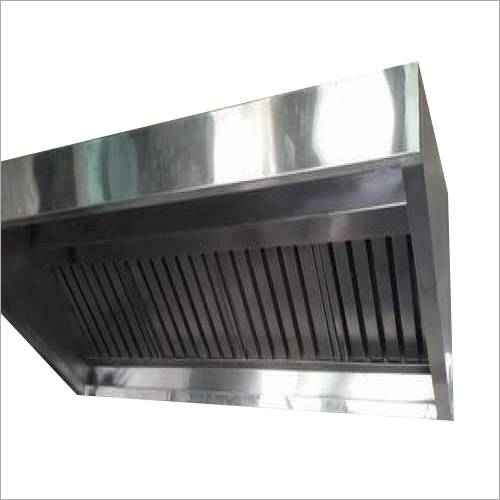 Galvanized Kitchen Exhaust Hood