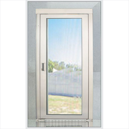 Manual Full Glass Door
