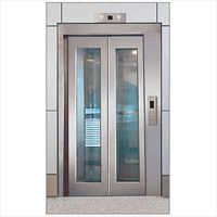 SS Center Opening Glass Door