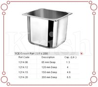 Ice cream pan 210 X 200 MM