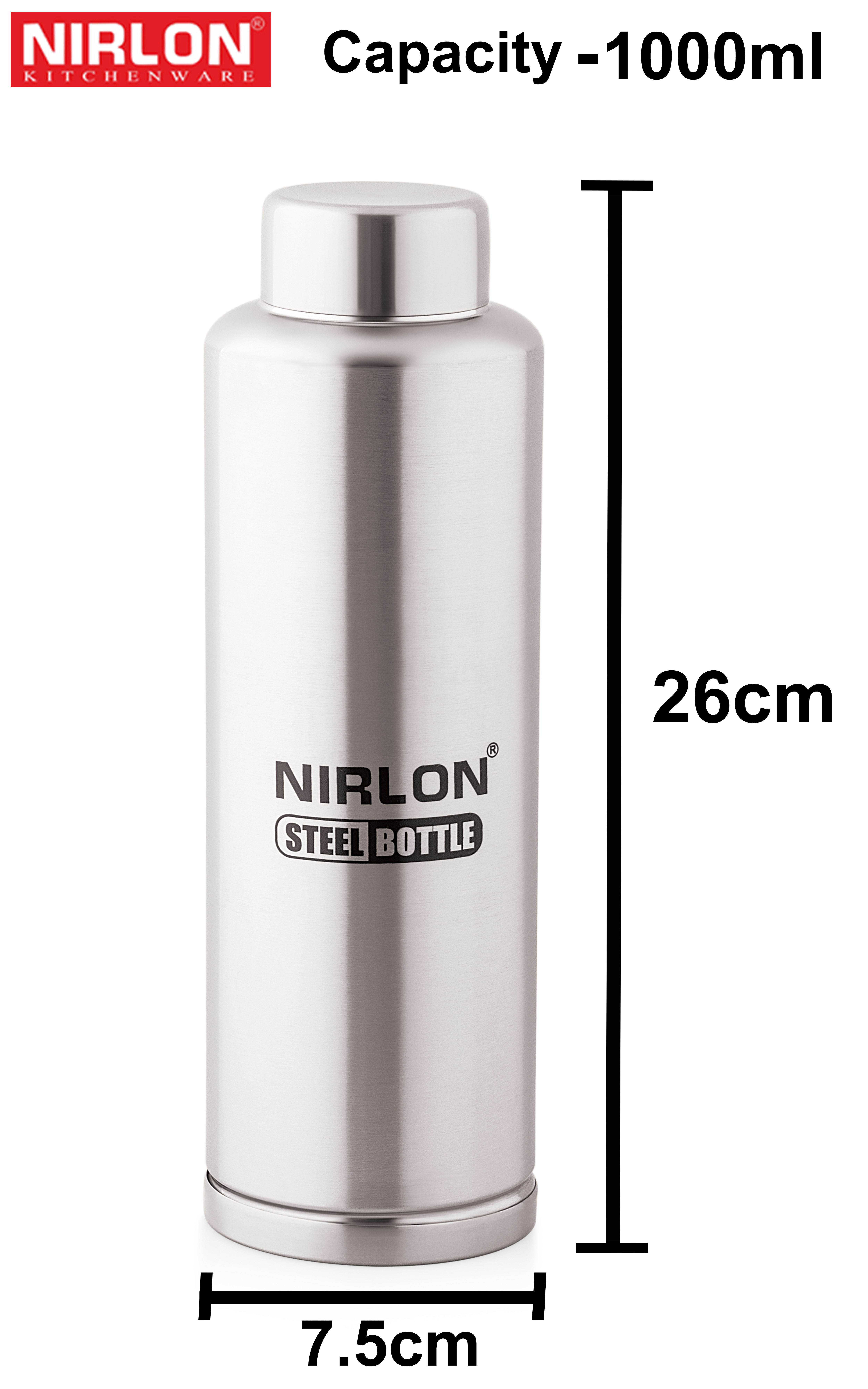 1000ml Insulated Steel Bottle