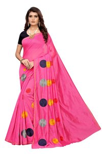 Gola chanderi cotton saree