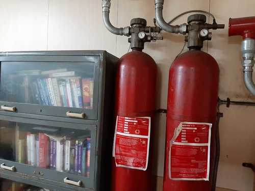Automatic Fire Suppression system CO2 GAS
