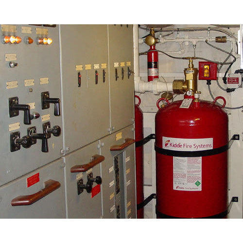CO2 Gas Room Fire Suppression System