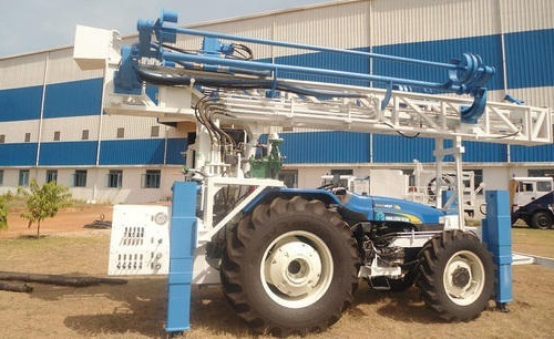 Tractor Mounted Water Well Rotary Drilling Rig