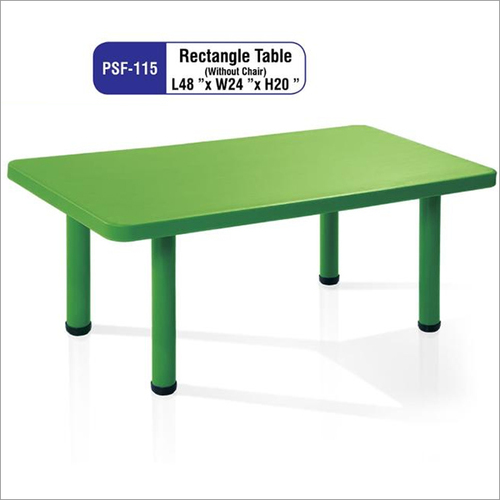 Play School Rectangle Table