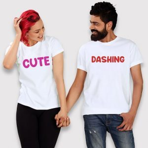 Printed Couple T-Shirt