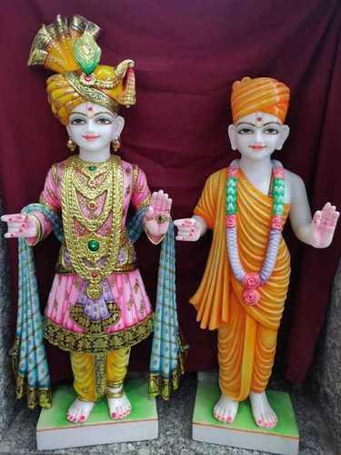 Lord Marble Swami Narayan Statues