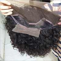 Natural raw front lace wig,100% virgin human hair transparent lace wig