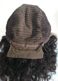 Natural raw front lace wig