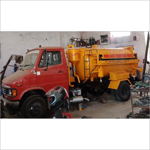 Chassis Mounted Sewage Suction Machine