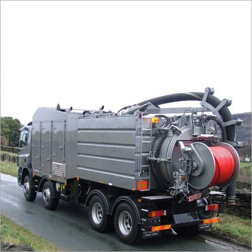 Mild Steel Sewer Suction Machine