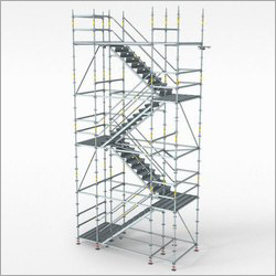 Stainless Steel Tower Staircase