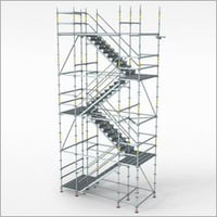 Stainless Steel Scaffolding Tower Staircase