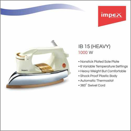 IMPEX Electric Iron Box (IB 15)