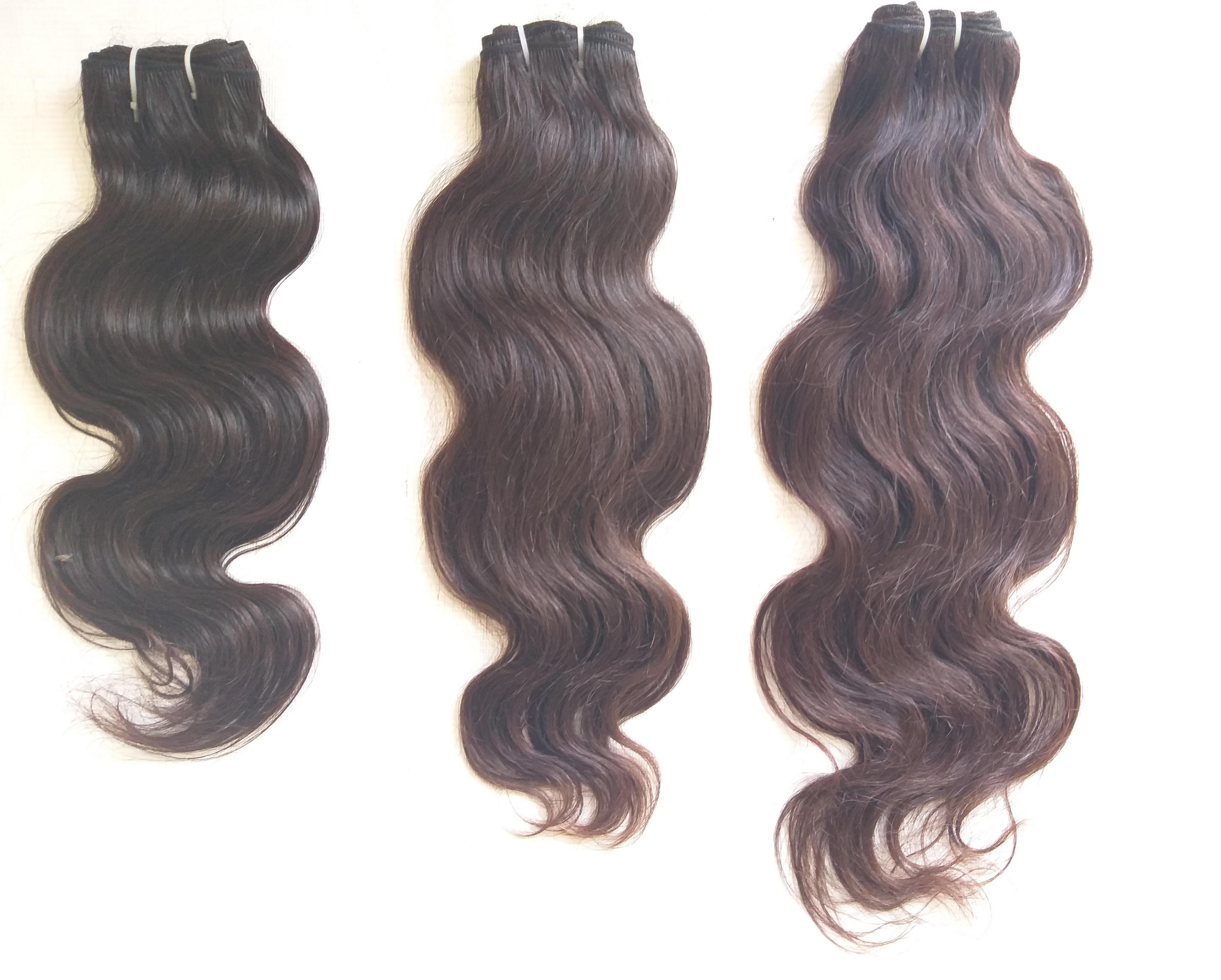 Indian Virgin Body Wave Hair, Wholesale Price Top Quality Virgin Human Hair Body Wave