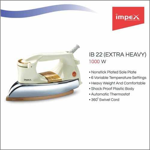 IMPEX Electric Iron Box (IB 22)