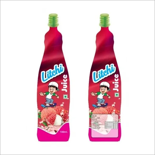 Bottle Shape Pouch Litchi Flavors 100ml