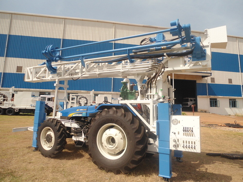 150 meter depth Tractor mounted  Water Well Drill Rig