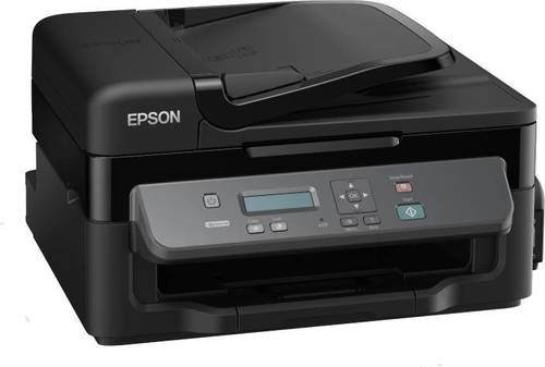 Epson Ink Tank M200 Multi-function Monochrome Printer  (Black, Refillable Ink Tank)