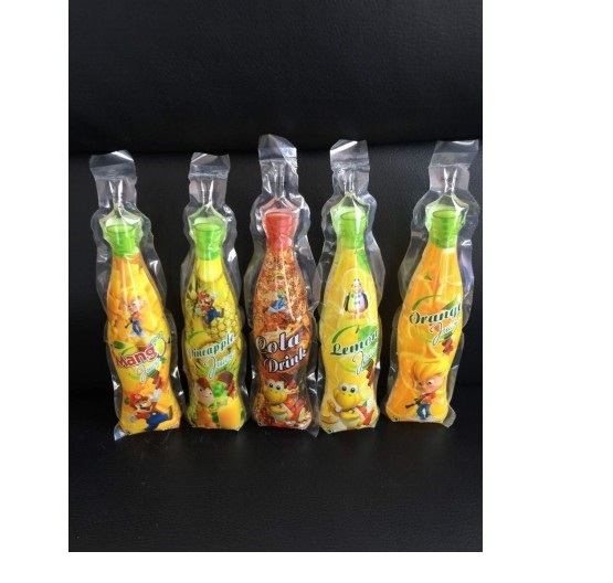 Bottle Shape Pouch Mixing Flavors 125ml