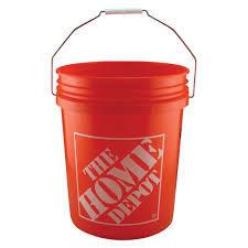 large paint bucket