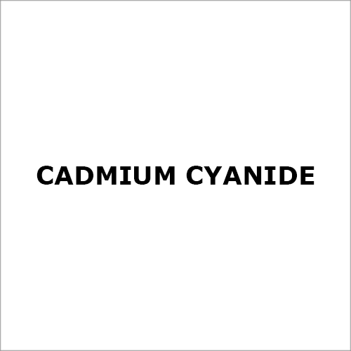Cadmium Cyanide
