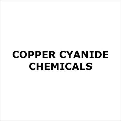 Copper Cyanide Chemicals