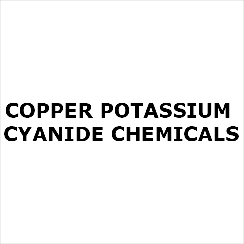 Copper Potassium Cyanide Chemicals
