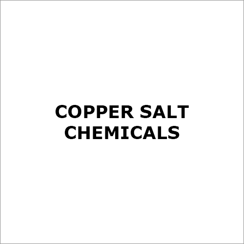 Copper Salt Chemicals